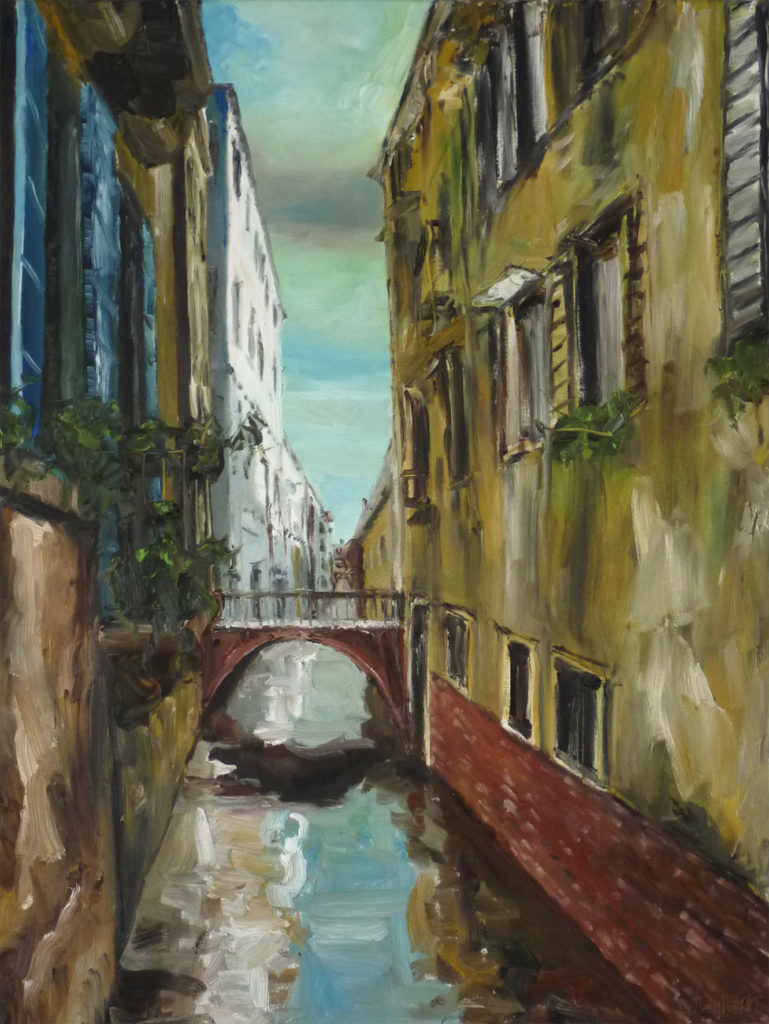 Venezia, Oil on canvas