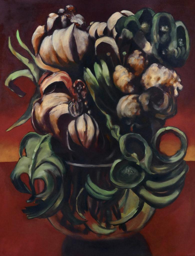 Flowers, Oil, 2020, 60x80