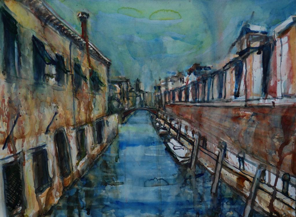 Venezia, watercolor