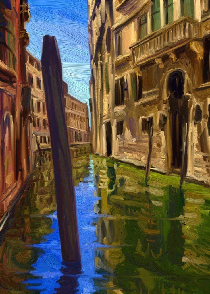 Venezia, digital artwork